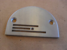 NEW THROAT PLATE FOR INDUSTRIAL WALKING FOOT MACHINES LARGE NEEDLE HOLE