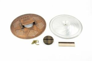 4-String Cigar Box Resonator Cone Kit Diamond Copper