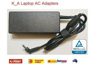 Certified 19.5V 3.33A/2.31A AC Charger for HP Pavilion 14 15 17 Series Blue tip