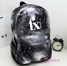 FX F(X) BAG BACKPACK SCHOOLBAG BLACK KPOP NEW