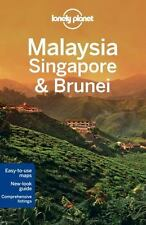 Lonely Planet Malaysia, Singapore & Brunei (Travel Guide), Lonely Planet, Brown,