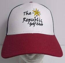 The Republic Golf Club Hat Cap Snapback Trucker Texas USA Embroidery New 1769fa1e2c14