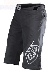 Shorts TroyLeeDesigns Sprint, charcoal, size 28-36