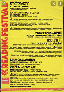 Reading Festival 2021 early entry pass