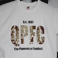 t-shirt  queens park fc - glasgow - pioneers of football