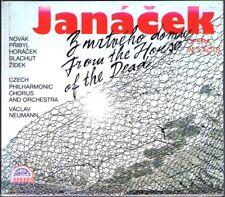 JANACEK From the House of the Dead VACLAV NEUMANN 2CD Richard Novak Jirglova