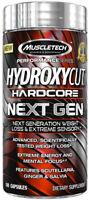 MUSCLETECH Hydroxycut Hardcore Next Gen 100 / 200 / 300 Kapseln Fatburner Caps