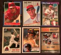 Mike Trout Six Card Awesome Collection !