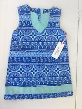 Vineyard Vines Girls Blue Shift Dress Size 3t Nwt $65