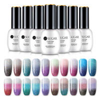 UR SUGAR 15ml Thermal Gel Polish Holo Colorful Soak Off Nail Art Gel Varnish