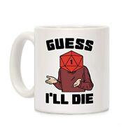 11 Oz Coffee Mug Guess I'll Die Vintage Game DnD Coffee Mug, Dungeons And Dragon