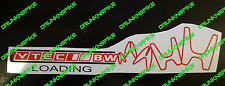Vtec Loading type r  K20 Ep3 Fn2 Dc5 Si Stickers Decal Chopped Honda