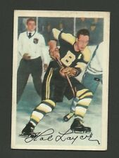 Hal Laycoe Boston Bruins 1953-54 Parkhurst Hockey Card #87
