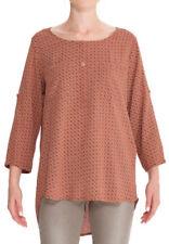 Geometrische taillenlange Damenblusen, - Tops & -Shirts in Größe 40