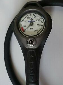 Apeks Finimeter 0-360 Bar mit HD Schlauch AP0633