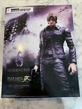 PLAY ARTS KAI Resident Evil 6 Leon.S.Kennedy Original Action Figure Collection