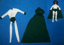 custom sewn Spectre male suit for Mego scale 8 inch figure doll Jsa