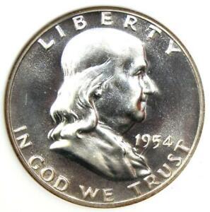 1954 PROOF Franklin Half Dollar 50C Coin - NGC PR68 (PF68) - $850 Value!