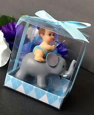 1PCS Baby Shower Favors Party Decoration Its A Baby Boy Blue Elephant Keepsake