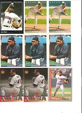 18 CARD JOSE MESA BASEBALL CARD LOT         98