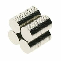 100Pcs 12mm X 1mm Strong Round Disk Rare Earth Neodymium Fridge Magnet