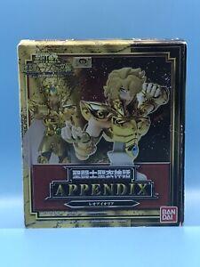 Saint Seiya Saint Cloth Myth Appendix Leo Aioria Figure Bandai US SELLER