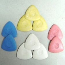 10 TRIANGLE TAILOR'S CHALK / CRAYON - ASSORTED COLORS
