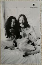 1998 Original APPLE THINK DIFFERENT poster - John Lennon -11x17- NEW!