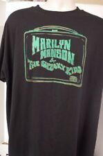 Marilyn Manson And The Spooky Kids vintage rock t-shirt  RARE,.,