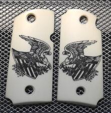 Micro 9 For Kimber Frames Scrimshawed American Eagle & Shield! NICE!