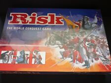 RISK Golden Cavalry Edition World Conquest Strategy Board Game Parker 2004