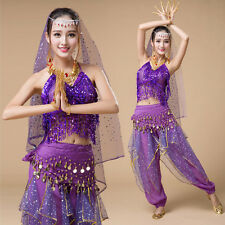 New Latin Belly Dance Costumes Costume Suit Indian Dance Practice 4 Colour
