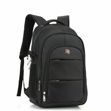"AUGUR Men Travel 17"" Laptop USB Swiss Backpack School Bag Hiking Shoulder Bag"