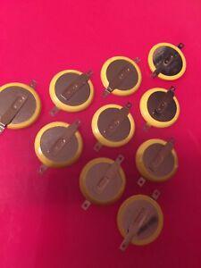 CR2025 / CR1616 / CR2032 Batteries with tabs 3x 5x 10x 20x lot SNES N64 GBA GBC