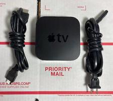 APPLE TV A1625 4TH GEN 32GB HD MEDIA PLAYER  + Cables ( No Remote ) - WARRANTY