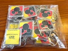 Disney D23 Gold Member Exclusive Pack of 12 D23 Mickey Keychains New in Package