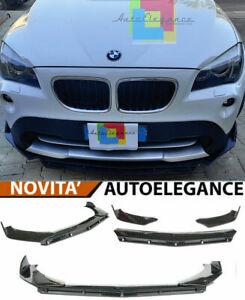 BMW X1 E84 STANDARD SPLITTER PARAURTI ANTERIORE NERO LUCIDO RS