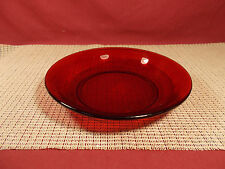 "Anchor Hocking Glass R1700 Royal Ruby 7 1/2"" Soup Bowl"