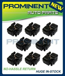 8 Ignition Coils Replacement for Mercedes-Benz C CL CLK ML Class UF359