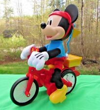 Disney Action Toy Mickey Mouse on Bike Clubhouse Sillie Weelie by Fisher-Price