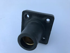 Leviton Female Panel Receptacle Cam Type Black 051-16R24-14E