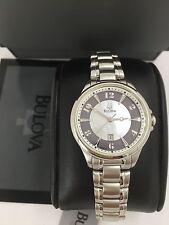 Bulova Women's 96M113 Adventurer Mother of Pearl Watch New in Box +Warranty