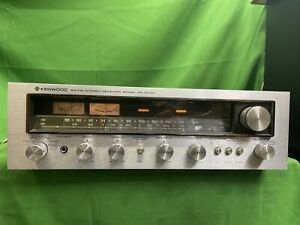 Kenwood KR-5030 Stereo Receiver Excellent Cosmetic Condition Sound Stopped 🔥🔥