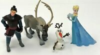 Bullyland Disney Frozen Elsa Olaf Kristoff and Sven Small Figure Doll Toy