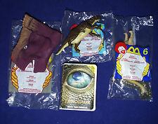 "4 Disney DINOSAUR McDonalds""s Happy Meal Toys - 4 6 8 BAYLENE Bruton KRON 2000"