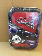 Disney Cars-Cars 3 Trading Card Game avec 39 cartes plus 1 Limited Edition card