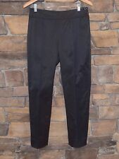 Ralph Lauren Black Label Black Side Button Detail Pants Sz 8 Excellent Condition
