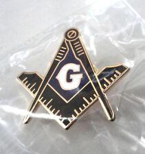 ZP226a Freemason Masonic lapel pin badge Geometry Compass