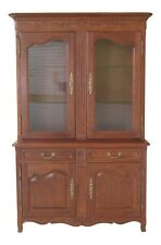 48875Ec: Stickley Country French Cherry China Cabinet