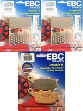 EBC HH Front + Rear Brake Pads (3 Sets) 2014-15 Yamaha FZ-09 / FA252HH  FA174HH